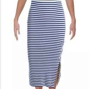 Lauren Ralph Lauren white and blue skirt NWT